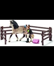 Schleich hevosenhoitosetti ja andalucialainen