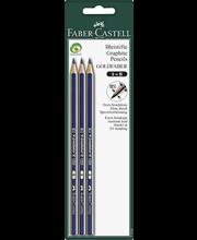 Faber-Castell Goldfaber B lyijykynä, 3 kpl