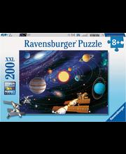 Ravensburger The Solar System palapeli, 200 palaa