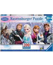 Ravensburger Frozen Friends Panorama palapeli, 200 palaa