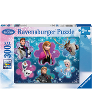 Ravensburger Frozen Cool Collage palapeli, 300 palaa