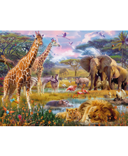 Ravensburger Colorful Africa palapeli, 1500 palaa