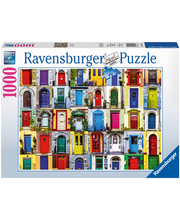 Ravensburger Doors of the World palapeli, 1000 palaa