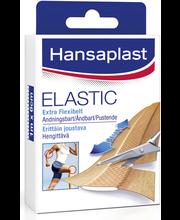 Hansaplast 10x10cmx6cm Elastic erittäin joustava kangaslaastari