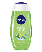 NIVEA 250ml Lemon & Oil Caring Shower Gel -suihkugeeli