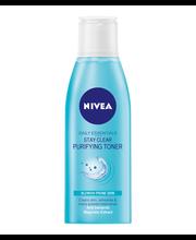 NIVEA 200ml Daily Essentials Stay Clear Toner kasvovesi epäpuhtaalle iholle