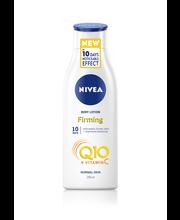 NIVEA 250ml Q10 + Vitamin C Firming Body Lotion -vartaloemulsio normaalille iholle