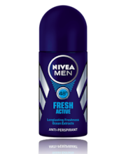 NIVEA MEN 50ml Fresh Active Deo Roll-on deodorantti