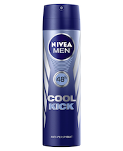 NIVEA MEN 150ml Cool Kick Deo Spray antiperspirantti