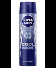 Nivea Men Cool Kick Deo Spray -deodorantti 150 ml