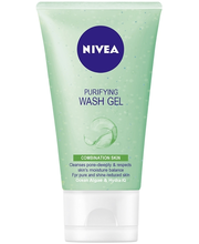 NIVEA 150ml Daily Essentials Purifying Wash Gel puhdistusgeeli sekaiholle