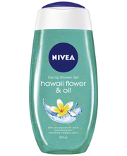 NIVEA 250ml Hawaii Flower & Oil Caring Shower Gel -suihkugeeli