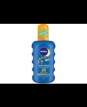 NIVEA SUN Kids 200ml sk20 Protect & Moisture Coloured Sun Spray -aurinkosuojasuihke