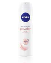 NIVEA 150ml Powder Touch Deo Spray antiperspirantti