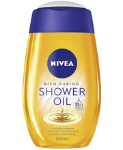 NIVEA 200ml Natural Oil Shower Oil -suihkuöljy