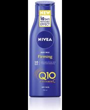 NIVEA 250ml Q10 Energy+ Firming Body Milk kiinteyttävä vartaloemulsio kuivalle iholle