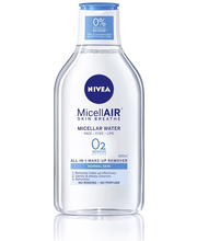 NIVEA 400ml Daily Essentials Refreshing Micellar Water -puhdistusvesi normaalille iholle