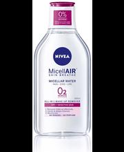 NIVEA 400ml Daily Essentials Gentle Micellar Water -puhdistusvesi kuivalle iholle