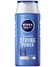 NIVEA MEN 250ml Strong Power -shampoo