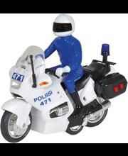 Dickie suomalainen poliisimoottoripyörä 15 cm