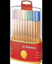 Stabilo Point 88 Parade kuitukynäpakkaus 20 väriä