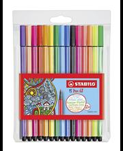 Stabilo Pen 68 kuitukynäpakkaus 15 väriä
