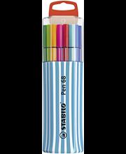 Stabilo Pen 68 SinglePack huopakynäpakkaus 15 väriä