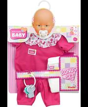 New Born Baby Nuken vaate - ja tarvikesetti