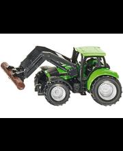 Siku Deutz traktori, jossa tukkinosturi