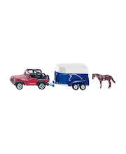 Siku jeeppi ja hevos-