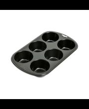 Kaiser Muffin World -muffinsivuoka, maxi 6 kpl