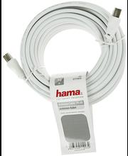 Hama antennijohto 75db, 10m, valkoinen BULK
