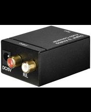 Hama AC80 audiomuunnin digitaalisesta analogiseksi
