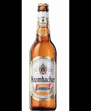 Krombacher Weizen Non-Alcoholic 50cl alkoholiton pullo-olut