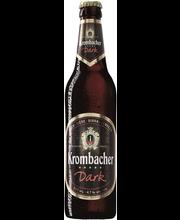 Krombacher Dark 4,7% 12x50cl, olut