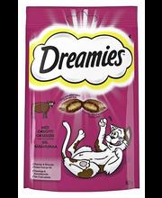 Dreamies 60g häränlihaa täydennysrehua kissoille ja kissanpennuille