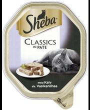 Sheba Classic 85g sis. vasikkaa, täysrehua aikuisille kissoille