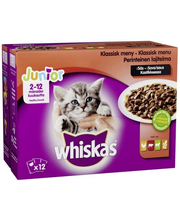 WHISKAS JR 12x100g Per...