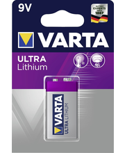 Paristo lithium 9v