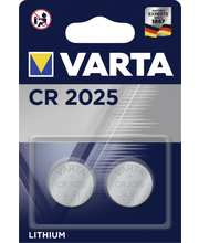 VARTA CR 2025 ELECTRONICS 2pack
