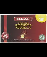 Teekanne 20x1,75g Rooibos Vanilla, vaniljanmakuinen roobois tee, pussitee