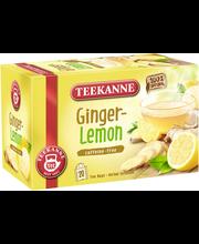 Teekanne 20x1,75g Ginger Lemon Herbal Infusion, Inkivääri sitruuna yrttitee, pussitee