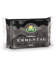 Arla 300 g Emmental Mustaleima juusto