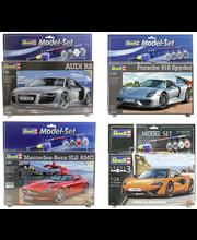 Kilpa-auto Revell Model Set, 6 erilaista autoa