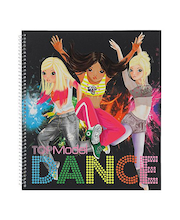 Värityskirja Top Model Dance