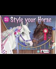Miss Melody Style Horse värityskirja