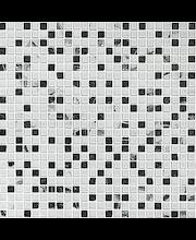 ABL Kivi-lasimosaiikki 1,5x1,5 valko-harmaa mix
