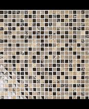 ABL Kivi-lasimosaiikki 1,5x1,5 ruskea