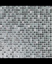 ABL Kivi-lasimosaiikki 1,5x1,5 harmaa