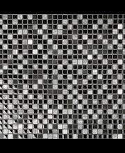 ABL Kivi-lasimosaiikki 1,5x1,5 musta